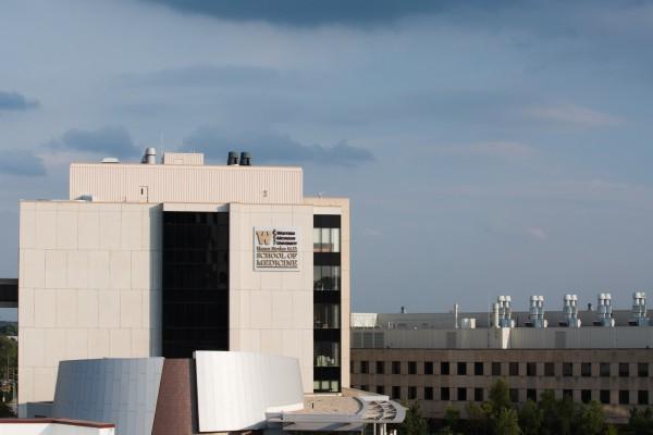 Western Michigan University School of Medicine custom wall sign