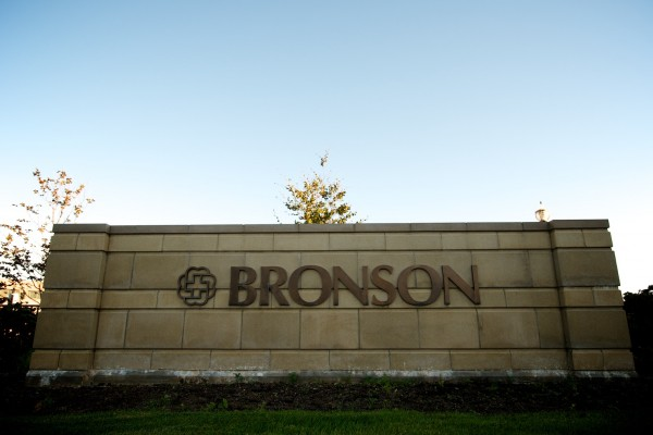 SignArt custom bronze lettering sign for Bronson